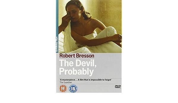 The Devil Probably Le Diable probablement NON-USA FORMAT, PAL, Reg.2 Import - United Kingdom by Antoine Monnier: Amazon.es: Antoine Monnier, Tina Irissari, ...