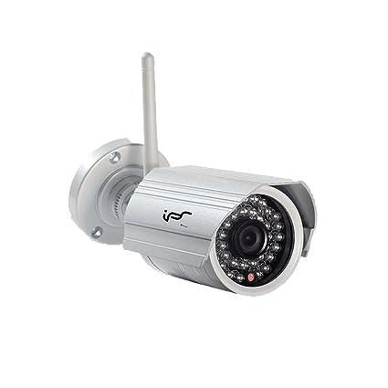 vigilancia Bullet WIFI IP cámara inalámbrica al aire libre IPSmart IP66 impermeable HD 720P 1.0 megapíxeles