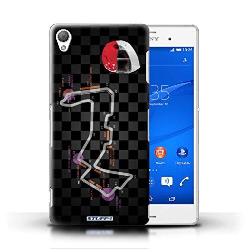 Kobalt® Imprimé Etui / Coque pour Sony Xperia Z3 / Singapour conception / Série 2014 F1 Piste