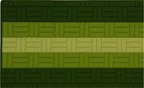 Tappeto Bagno Cucina CORRIDOIO Mosaico 3D Arancio, 50x80 cm