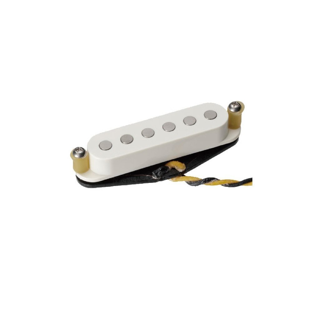 TV Jones Starwood Strat Pickup Middle Parchment White   B06VV2BJZK