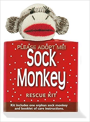 Sock Monkey Rescue Kit Activity Kit