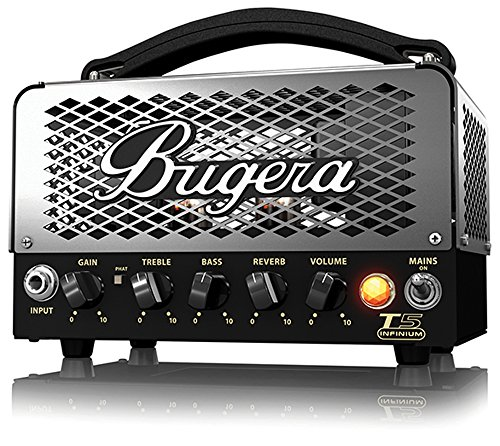 BUGERA T5 5-Watt Cage-Style Amplifier Head with Infinium Tube Life