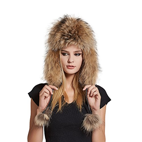 Fur Story Women's Trapper Hat with Sheep Leather Earmuffs for sale  Delivered anywhere in USA