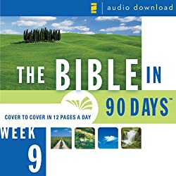 The Bible in 90 Days: Week 9: Jeremiah 34:1 - Daniel 8:27 (Unabridged)