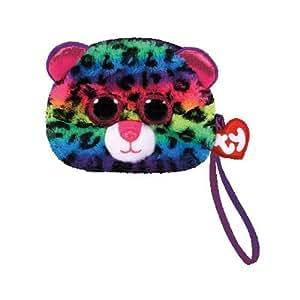Amazon.com: TY Gear Beanie Boos Dotty The Rainbow Leopard ...