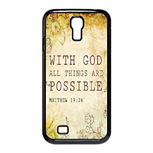 linJUN FENGBible Verse Use Your Own Image Phone Case for SamSung Galaxy S4 I9500,customized case cover ygtg619599