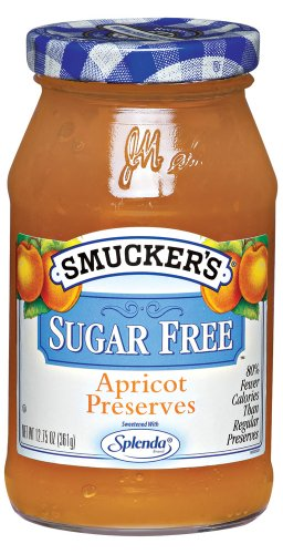 Smuckers Apricot Preserves - Smucker's  Sugar Free Apricot Preserves, 12.7500-Ounce (Pack of 6)