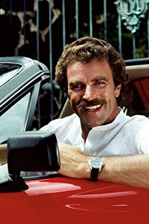 Magnum PI//Ferarri 308/ GTS//Tom Selleck//robin-1/ * metal con sello Vanity Prop placa de licencia