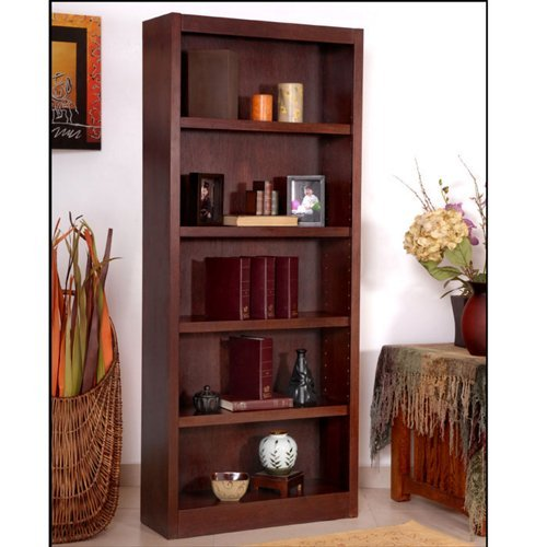 Midas Five Shelf Bookcase 72
