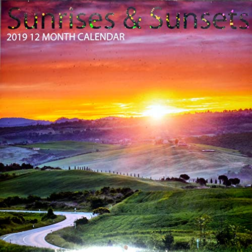Sunrises & Sunsets 12-Month 2019 Wall Calendar by Greenbrier