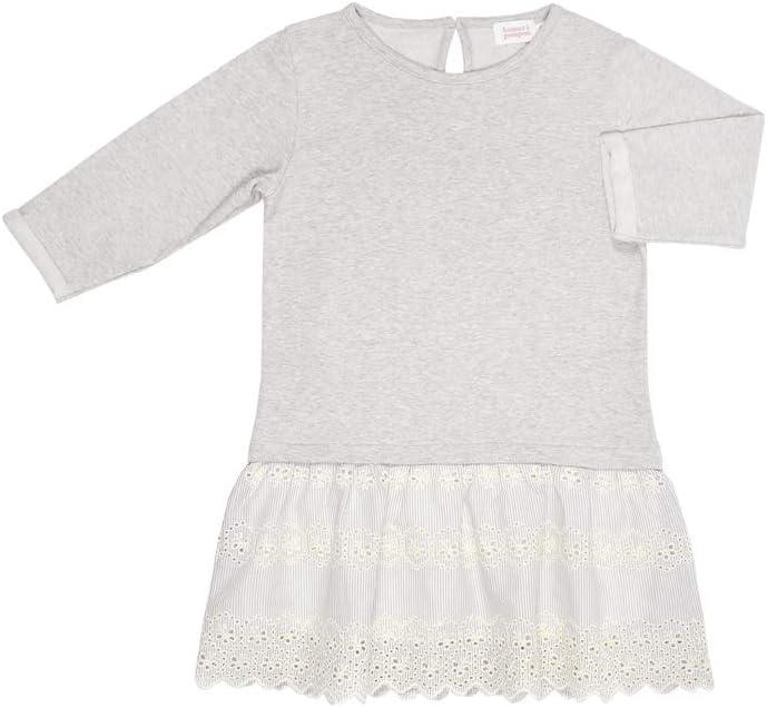 بونيت ايه بومبوون فستان شتوي للبنات - مقاس L