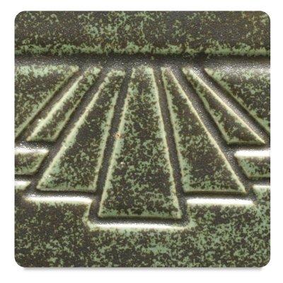 AMACO Potters Choice Lead-Free Glaze, 1 pt, Art Deco Green PC-48