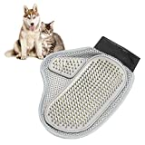 2-in-1Pet Grooming Glove Brush Mitt for Long and Short Hair - The Better Pet Groomer Mitt Gentle Brush Alternative Message Tools for Dog Cat in Happy and Health