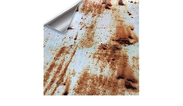 WrapWorkers Series Vinilo Efecto Oxido con Fondo Blanco 500x152 cm: Amazon.es: Coche y moto