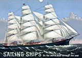 Sailing Ships (UK Version) (Wall Calendar 2020 DIN A3 Landscape): On the world seas though the year (Monthly calendar, 14 pages )