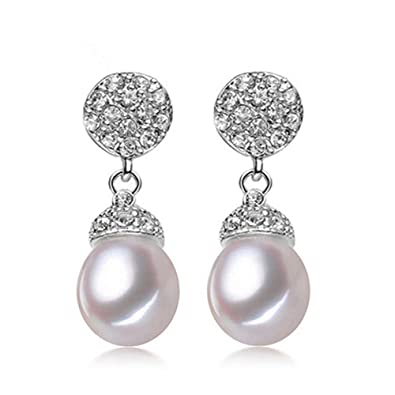 c5c75ffbe3cf Ritzo by M ~ Pendientes de perlas auténticas perlas de agua dulce ...