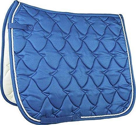 Hkm 4000315716524 Cassandra Softice-6771 - Mantilla para Caballo, Color Azul y Plateado