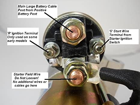 starter solenoid wiring diagram chevy starter chevy starter wiring diagram jodebal com on starter solenoid wiring diagram chevy