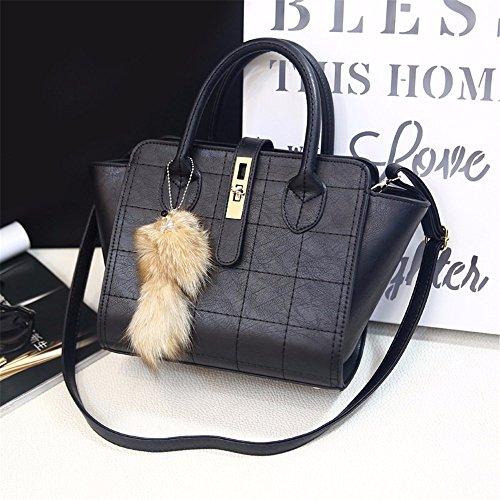 Black MSZYZ chers cadeaux à des bandoulière bandoulière en la Maison mode à de sac sac sac vacances main occasionnels 1q1wUxr