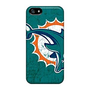 Awesome Cases Covers/iphone 5/5s Defender Cases Covers(miami Dolphins) hjbrhga1544