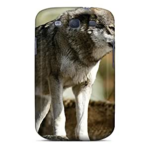 For EOVE Galaxy Protective Case, High Quality For Galaxy S3 2 Wolves Skin Case Cover