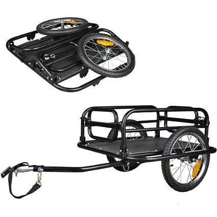 "Remolque para transporte - Remolque de bicicleta para equipaje de 16"" ..."