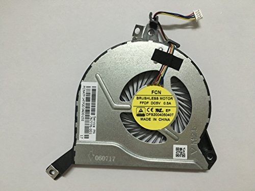 Hk-part Cpu Cooling Fan For HP Pavilion 767776-001 767706-001 773447-001 767712-001 Notebook PC by sywpart