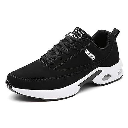 cf2a907c489a Amazon.com: QIDI Men's Running Shoes, Air Cushion Non-Slip Slow ...
