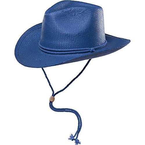 San Diego Hat Kids Cowboy Hat (4-8y) (Navy)