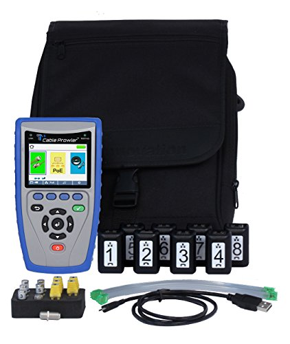 T3 Innovation CB400# Cable Prowler Cable Verifier, RJ45 Tester and VDV Cable Tester (Cable Finder Fault Tdr)