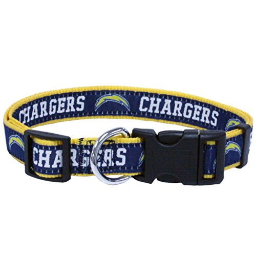 Pets First NFL San Diego Chargers Pet Collar, Large