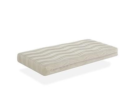 Colchón de cuna núcleo FIBRA DE COCO natural + 100% LÁTEX para cuna de 120x60cm