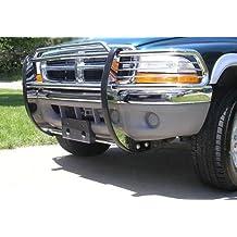 2000 2001 2002 2003 2004 Dodge DAKOTA Stainless Steel SS Modular Grille Guard Brush Nudge Push Bar