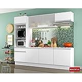 Cozinha Madesa Nicole G200880909 5 Peças Branco SE