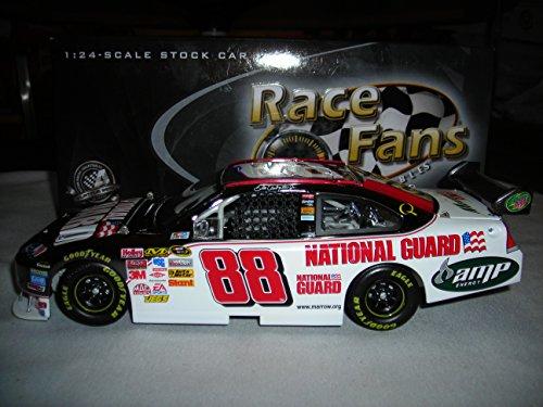 - 2008 ACTION RCCA DALE EARNHARDT JR #88 NATIONAL GUARD 2008 IMPALA SS GUNMETAL 1:24 NASCAR DIECAST