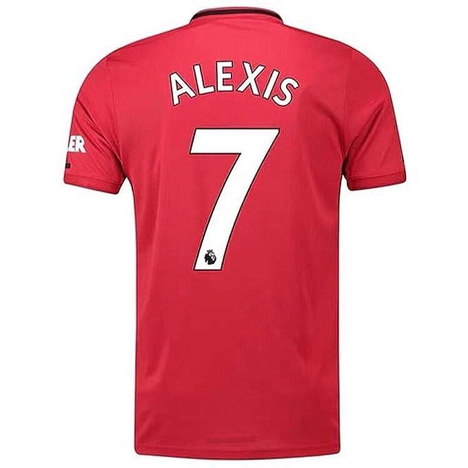 premium selection 400a1 494eb Amazon.com: Alexis Sanchez Jersey #7 Manchester United 2019 ...
