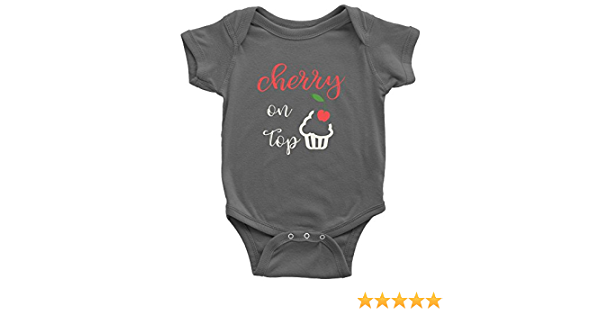 The Cherry on Top Baby Onesie