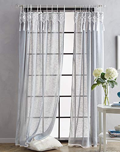 tab top curtains gray - 4