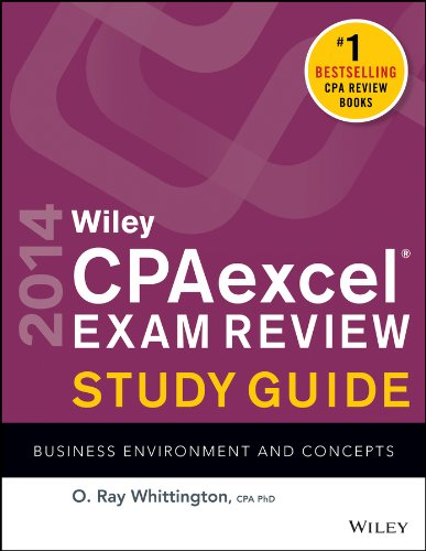 Wiley CPAexcel Exam Review 2014 Study Guide, Business Environment and Concepts