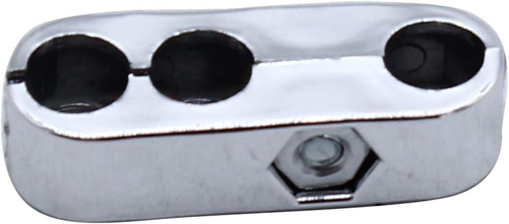 Sliver 6 PCS Engine Spark Plug Wires Separator Divider Kit 7mm and 8mm Fit CHEVY FORD /& MOPAR