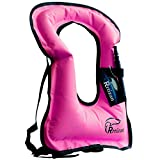 Best Adult Snorkeling Vests - Rrtizan Adult Inflatable Snorkel Vest Portable Life Jacket Review