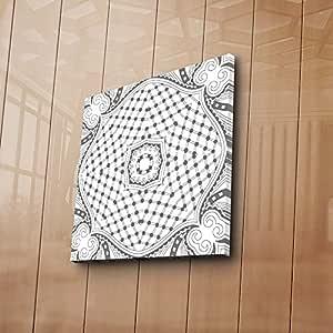 لوحة قماش للرسم بويا -08 للزينة - الوان متعددة