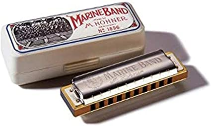 Amazon Com Hohner Accordions Marine Band Harmonica Key Of C 10 Musical Instruments