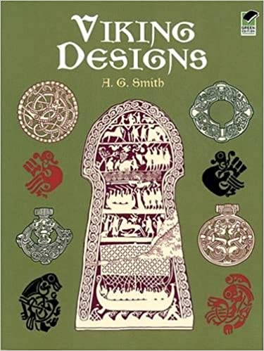 Viking Designs Dover Pictorial Archive A G Smith 40 Awesome Viking Patterns