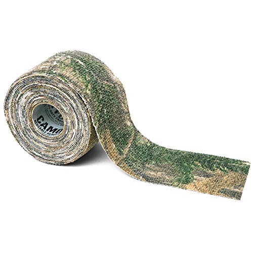 """McNett Tactical Camo Form Protective Camouflage Wrap, Realtree Xtra, 2""""x144"""" roll"""