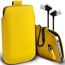 ONX3® Alcatel idol 4s Case Protective Stylish Fitted Faux Leather Pull Tab Pouch Skin Case Cover Various Colours To Choose From