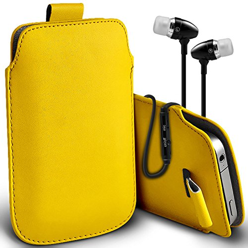 Huawei Ascend Y550 Faux Leather Pull Tab Pouch Skin Case Co