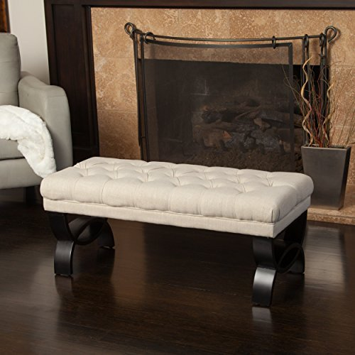 Great Deal Furniture 239302 Colette Ottoman Bench