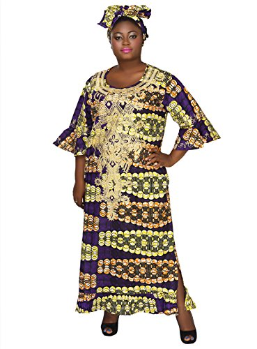 long afrocentric dresses - 1